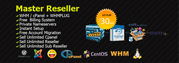 Unlimited Master Reseller Hosting now in just 30$/year Discount Coupon
