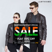 Independence Sale : Everyone Knew About Leather Jackets for Men
