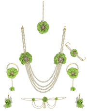 Get Flat 10% Discount on flower jewellery online by Anuradha Art