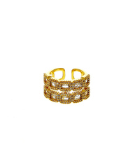 Shop for American diamond ring from the house of Anuradha Art Jeweller
