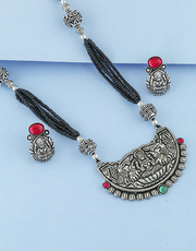 Buy black metal jewellery at affordable price by Anuradha Art Jeweller